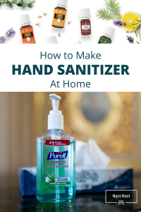 How to Make Hand Sanitizer at Home | https://nesthost.ca