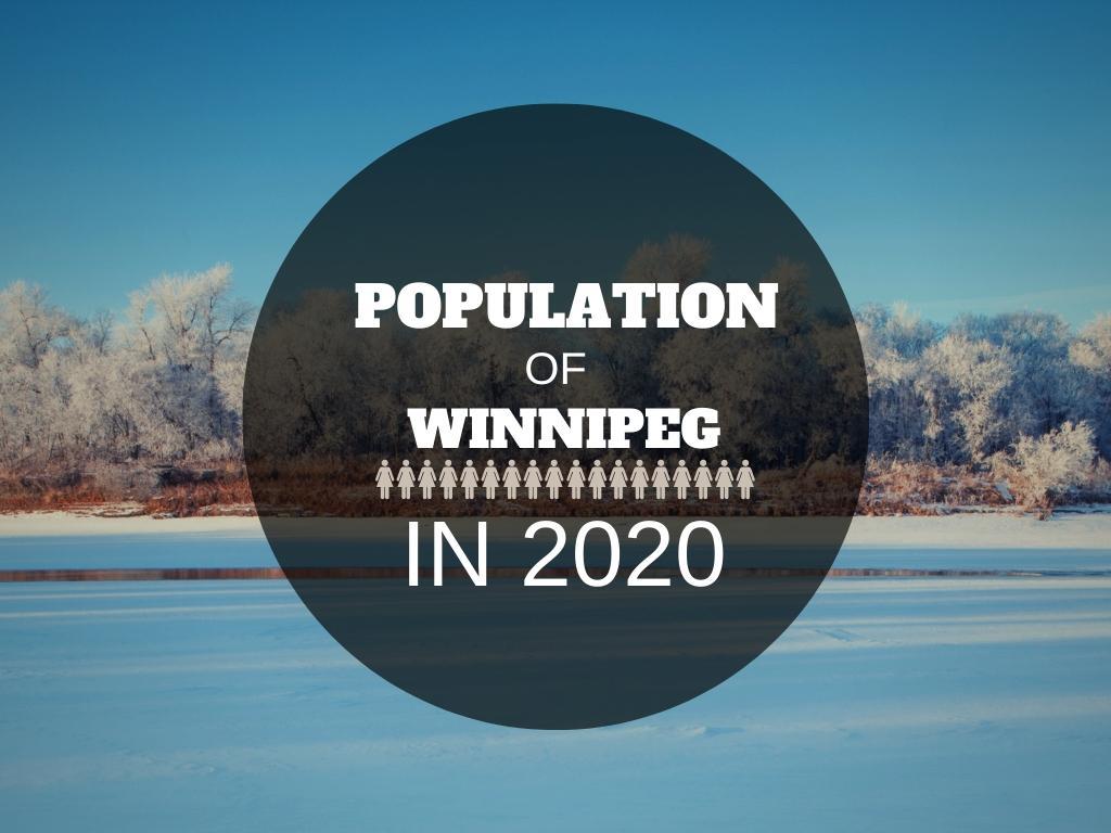 Winnipeg population – The statistics from the latest census